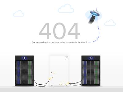 404 page foe hosting company