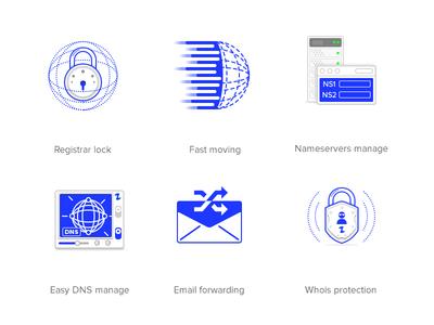 Hostzealot icons design