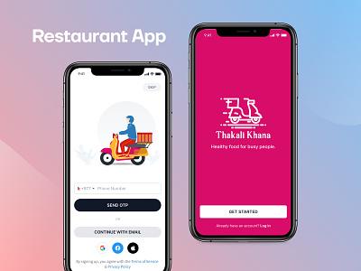 Restaurant/Food App Concept app restaurant food-app