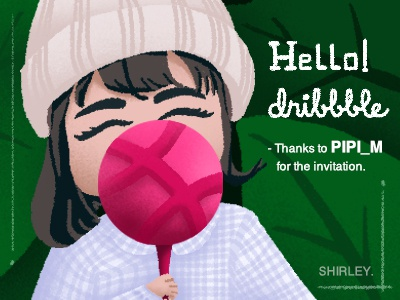 Hello Dribbble shot first
