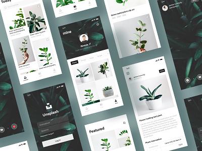 unsplash.com4 photography social ux ui design icon app