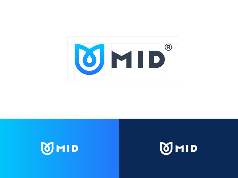 MID-Mobile Internet Division flow internet graphics mid logo