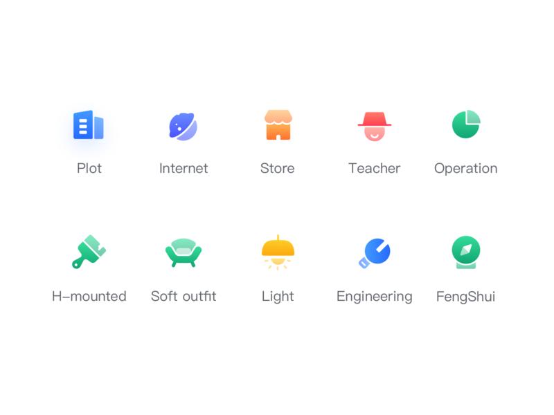 Group icon flat graphics ui design icon app