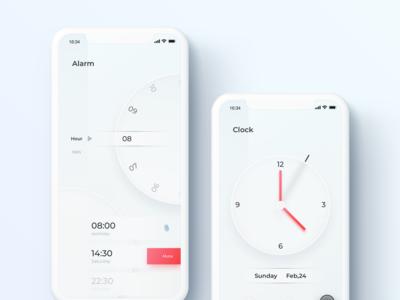 Alarm App UI