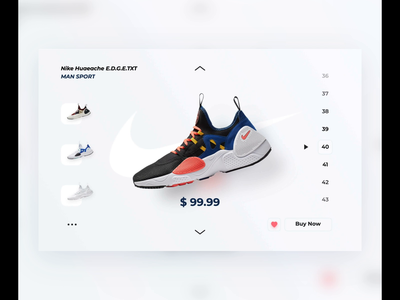 Nike Store Web Animation