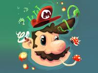 Super Mario Pastel