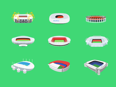 Some famous football courts