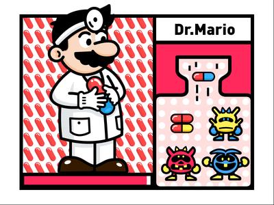 Dr.Mario Vitamin Toss