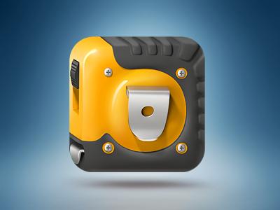 HutQa Icon 3d icon ios repair measurement