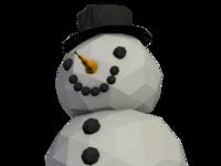snowman christmas card image