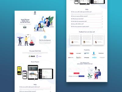 Syntx Development Marketing Page