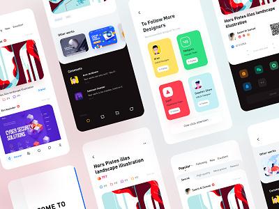 Designer app app ux ui design