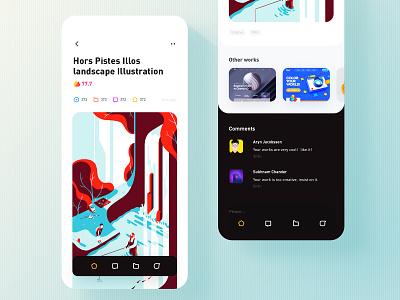 Small ui app design