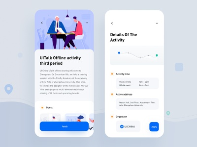 Participate in activities rdd ui app design