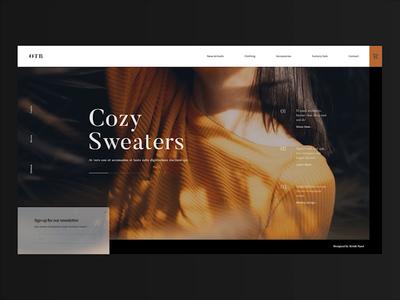 W13 - Boutique Website Concept