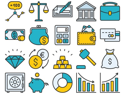 Finance Icon Set