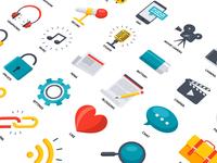 Media & Communication Icons