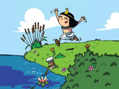 The Little Pharaoh pharaoh little comics strips kids egypt