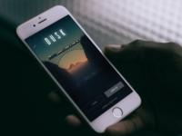 Dusk app sign up screen