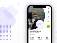 Mobile Profile view