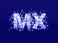 MX Branding Contest c4d 3d logo graphic design typography branding illustration