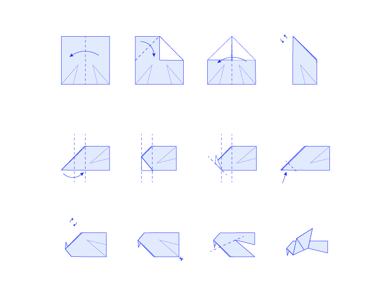 Origami Dove Instructions By Nick Hart On Dribbble