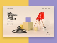 Creativity Product Landing Page