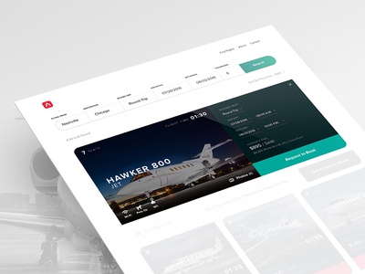 Airvel Private Jet Booking Concept