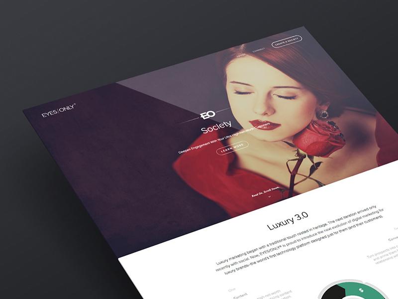 Society Brand Microsite creative direction web design branding marketing user interface user experience