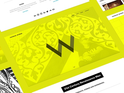 Personal Website - Patrick Widen