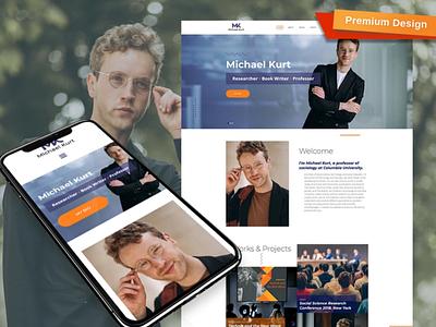 Academic Personal Website Template personal website academic responsive website design mobile website design website template design for website website design web design