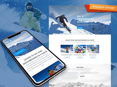 Sport MotoCMS 3 Responsive Website Template responsive website design mobile website design website template design for website website design web design