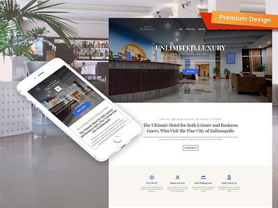 Resortex Responsive Website Template responsive website design mobile website design website template design for website website design web design