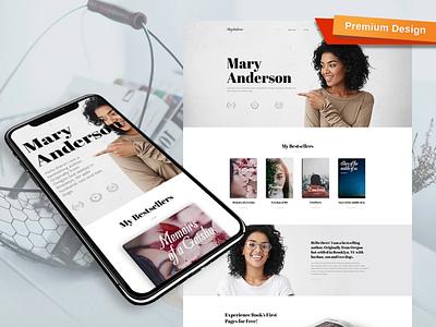 Books Premium Template mobile website design website template design for website website design web design