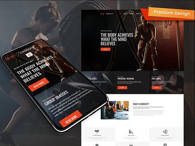 Sport MotoCMS 3 Responsive Website Template mobile website design website template design for website website design web design