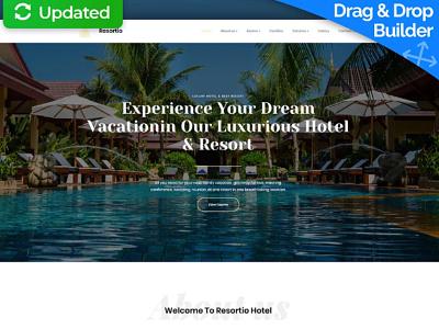Luxury Hotel Website Design for All Inclusive Resorts hotel website luxury hotel responsive website design mobile website design website template design for website website design web design