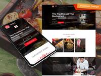 Thai Restaurant Website Template