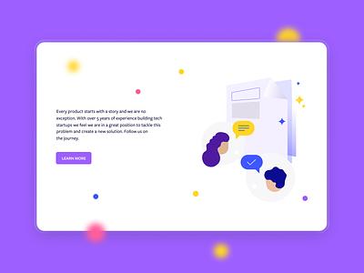 BetaTesta - Learn more typography web ux ui illustration icon logo design branding app