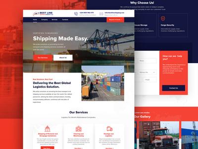 Bestline Shipping Website