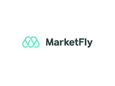 Market Fly Logo Design design branding design iconography brand branding logodesign icon design logo design marketfly fly marketing icon logo