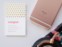 Lovelyloot Business Card