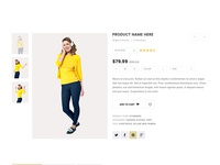 e-Commerce PSD Template - Shopaholic