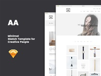 AA - Creative Sketch Template