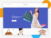 SHOPER - eCommerce Home Page Concept