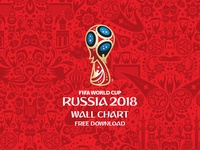 Freebie - FIFA World Cup Russia 2018 Wall Chart