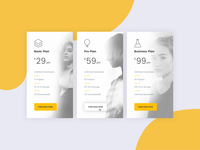 Pricing Table Concept 002