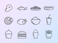 Food / Restaurant Icon Set