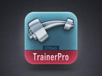 iOS Icon fitness dumbbell sport