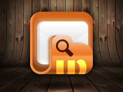 Icon Preview Dribbble search icon folder mail