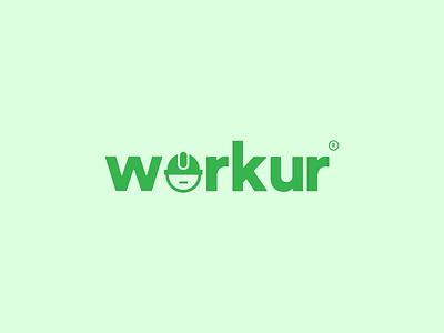 Workur   Logo Design app icon badrrehman brand design vectorart logo illustrator brandidentity branding
